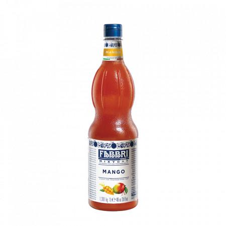 Fabbri MIXYBAR MANGO - Cocktailuri, Granite, Smoothie-uri, Milkshake, Sorbete, Sticla din plastic, 1 litru