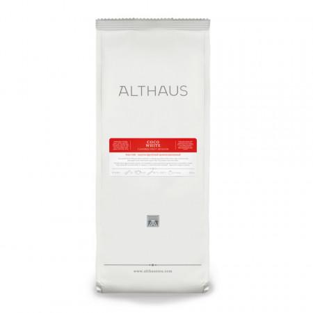 Althaus Loose Tea Coco White: infuzie fructe, ceai vrac, punga 250g