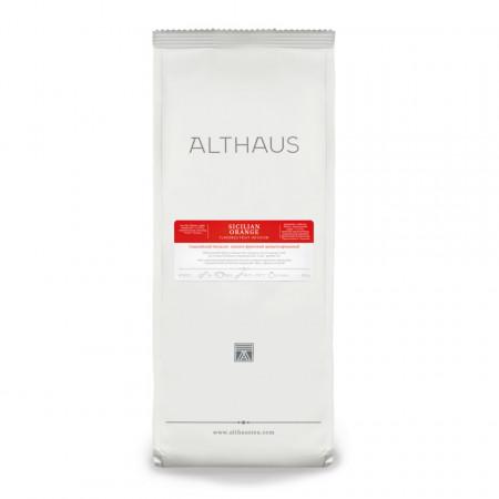 Althaus Loose Tea Sicilian Orange: infuzie de fructe, ceai vrac, punga 250g