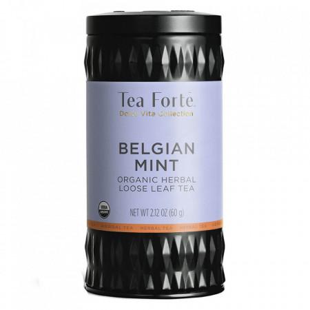 Belgian Mint - Ceai de plante organic cu menta si ciocolata belgiana