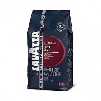 Cafea Boabe Lavazza Super Gusto UT, 1kg, Cafea Amestec, Echilibrata, Note de fructe confiate si condimente