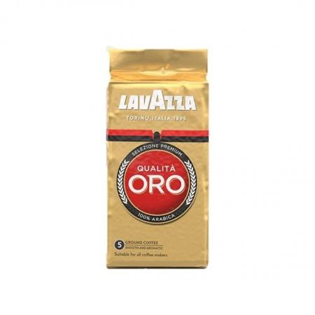Cafea Macinata Lavazza Qualita Oro, 250g, 100% Arabica, America centrala, Note Florale si Fructate