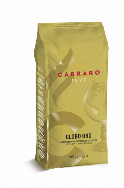 Carraro Globo Oro Cafea Boabe, 1kg