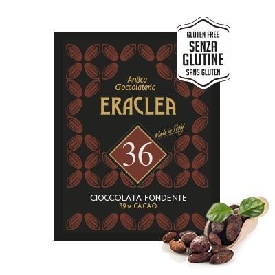 Ciocolata calda Eraclea Antica Cioccolateria Neagra, 15 plicuri, 480 grame, Fara Gluten