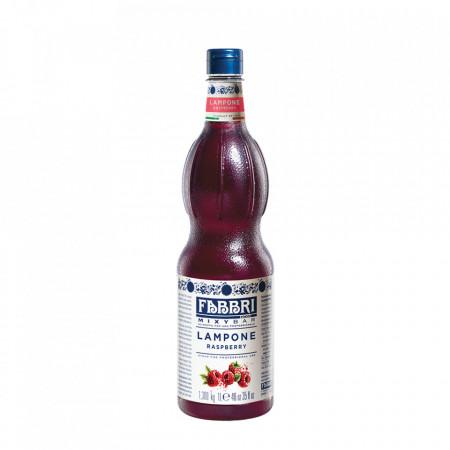 Fabbri MIXYBAR ZMEURA - Cocktailuri, Granite, Smoothie-uri, Milkshake, Sorbete, Sticla din plastic, 1 litru
