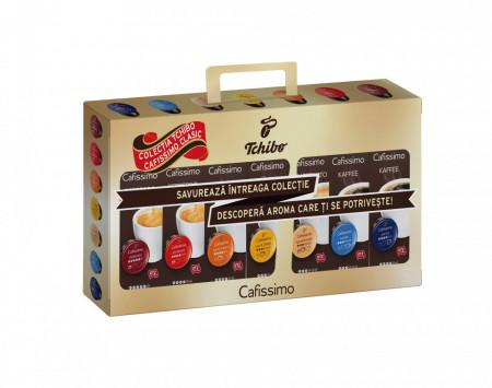 PACHET PROMOTIONAL 6+1 GRATIS! Pachet Capsule Cafea Cafissimo Collection - 7 Sortimente, 70 capsule, 501g
