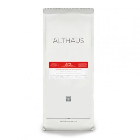 Althaus Loose Tea Kiwi Colada: infuzie de fructe, ceai vrac, punga 200g
