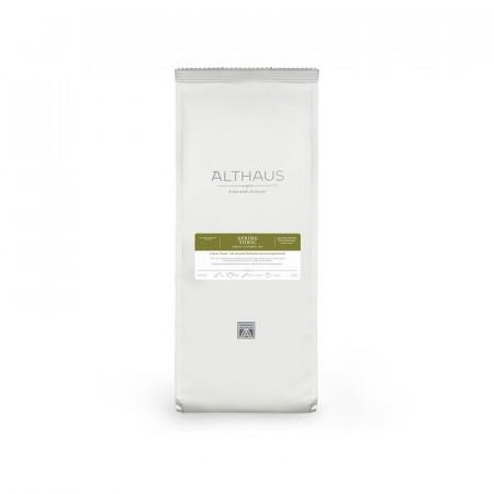 Althaus Loose Tea Spring Tonic: ceai verde aromat, ceai vrac, punga 250g