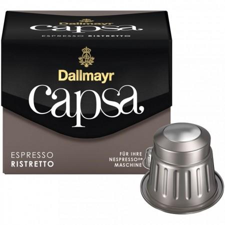 Capsule cafea Dallmayr Capsa Espresso Ristretto, 10 capsule, 56 grame, compatibile Nespresso