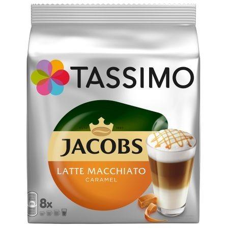 Capsule cafea Tassimo Caramel Macchiato, 8 capsule, 268 grame