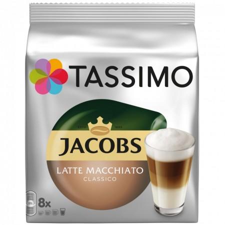 Capsule cafea Tassimo Latte Macchiato, 8 capsule, 264 grame