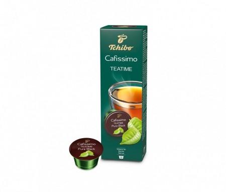 Capsule Ceai Tchibo Tea Pure Black, Ceai Negru, 10 capsule, 20g