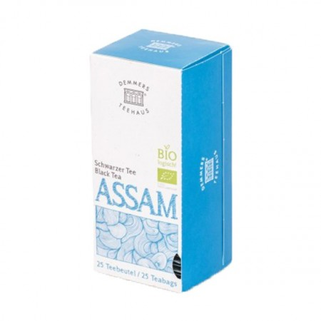 Ceai Demmers Quick-T Organic Assam, 25 plicuri, 1.75g/plic, 43.75g/cutie.
