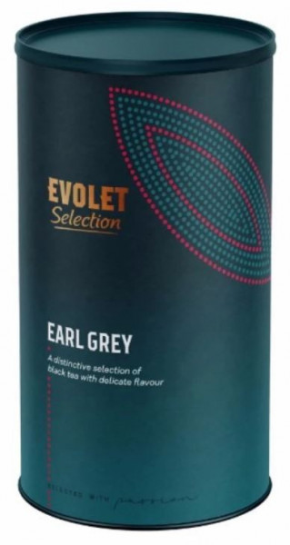 Ceai EVOLET Selection infuzie TUB - Earl Grey. 250g Ceai In Tub Din Carton, Ceai Negru