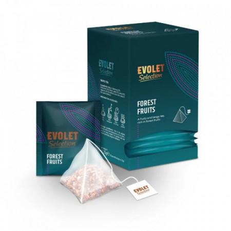 CEAI EVOLET Selection Pyramid Fructe de Padure, 25 plicuri, Plic Piramida, Greutate Plic 2.25g