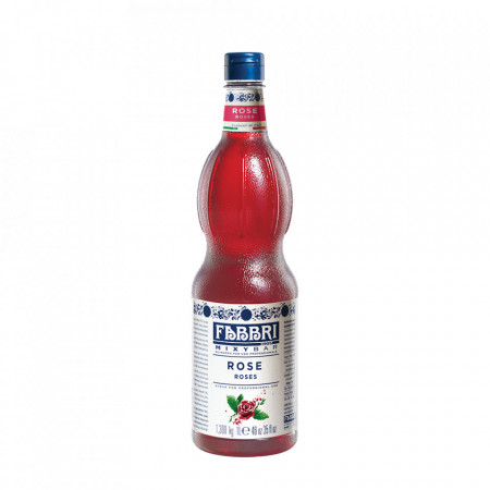 Fabbri MIXYBAR TRANDAFIRI- Cocktailuri, Granite, Smoothie-uri, Milkshake, Sorbete, Sticla din plastic, 1 litru