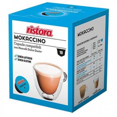 Ristora Capsule Cafea Mokaccino, tip Dolce Gusto, set-10 buc