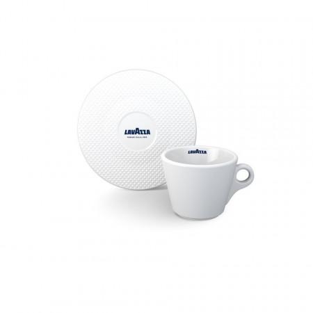 Set cesti Lavazza Premium Collection cesti ceramice cappuccino cu farfurii 6 buc