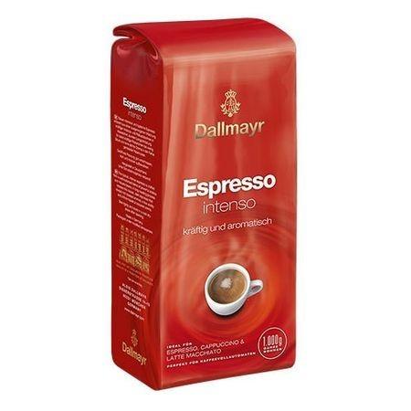 Cafea boabe Dallmayr Espresso Intenso, 1kg, Robusta si Arabica, Arome Puternice si Aciditate Scazuta, Corp Cremos