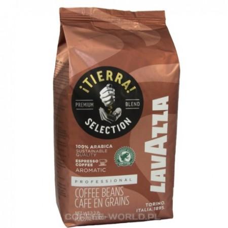 Cafea Boabe Lavazza Tierra Brasile 100% Arabica, 1kg, Note de Ciocolata si Aroma Persitenta