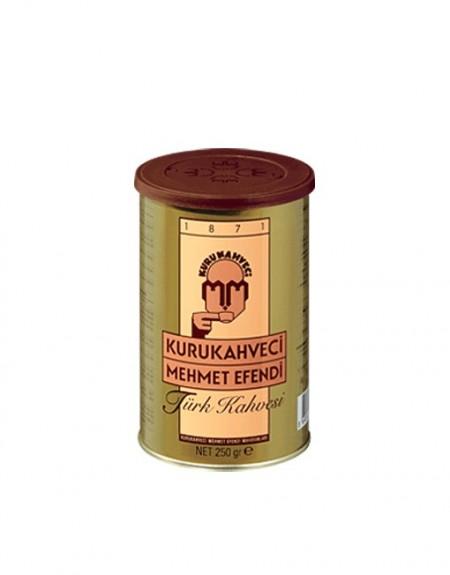 Cafea macinata Mehmet Efendi, cutie metalica, 250 grame
