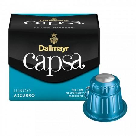 Capsule cafea Dallmayr Capsa Espresso Azzurro, 10 capsule, 56 grame, compatibile Nespresso