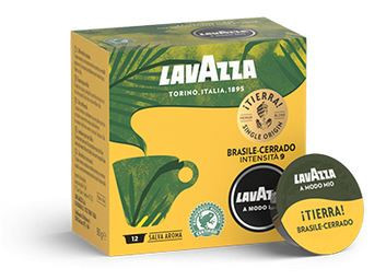 Capsule cafea Lavazza A Modo Mio Tierra Brasile, 12 capsule