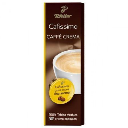 Capsule cafea Tchibo Cafissimo Caffe Crema Fine Aroma, 10 capsule, 80 g