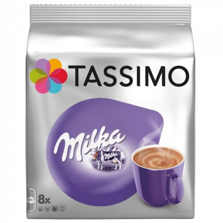 Capsule ciocolata calda Tassimo Milka, 8 capsule, 240 grame