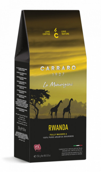 Carraro Cafea Macinata Origine Rwanda, Pachet 250 gr