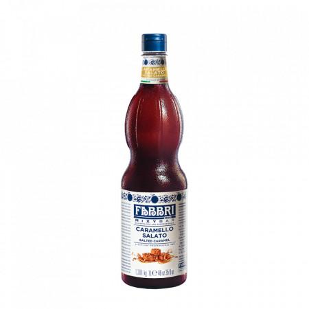 Fabbri MIXYBAR CARAMEL SARAT - Cocktailuri, Granite, Smoothie-uri, Milkshake, Sorbete, Sticla din plastic, 1 litru