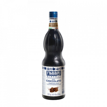 Fabbri MIXYBAR CIOCOLATA - Cocktailuri, Granite, Smoothie-uri, Milkshake, Sorbete, Sticla din plastic, 1 litru