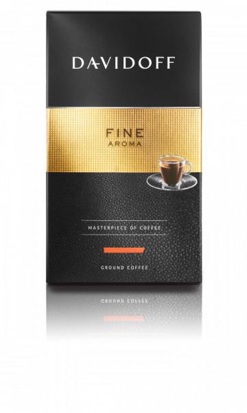 Cafea Măcinată Davidoff Fine Aroma, 250 g, 100% Arabica, aciditate medie, corp mediu