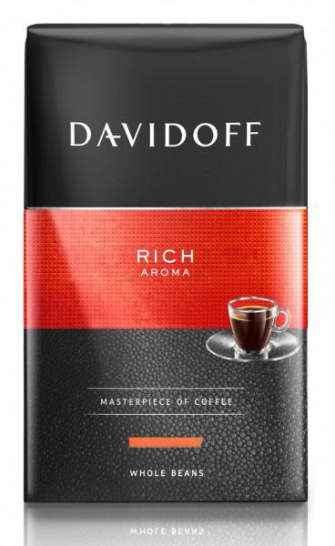 Cafea Măcinată Davidoff Rich Aroma, 250 g, 100% Arabica, aciditate ridicată, corp plin