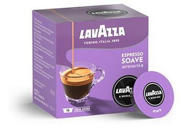 Capsule cafea A modo Mio Soave 16 capsule, 120 grame