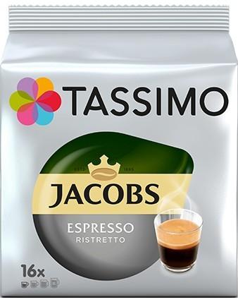 Capsule cafea Tassimo Espresso Ristretto, 16 capsule, 128 grame