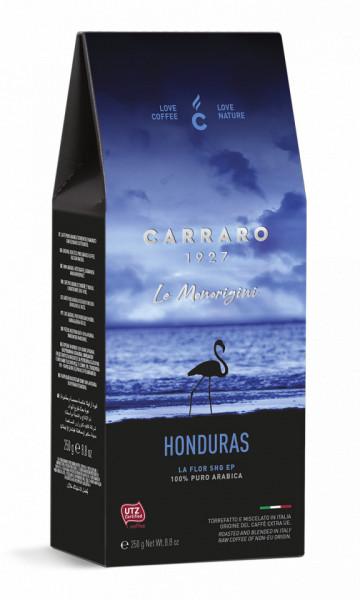 Carraro Cafea Macinata Origine Honduras, Pachet 250 gr