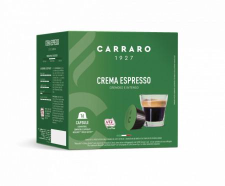 CARRARO Crema Espresso Capsule Cafea, tip Dolce Gusto, set – 16buc
