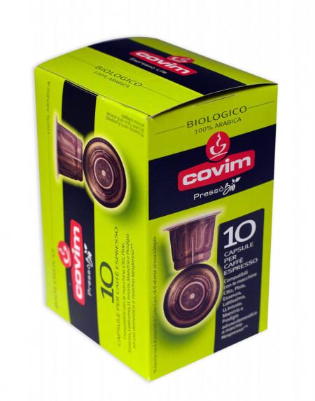 COVIM PRESSO Capsule Cafea BIO100% Arabica – 10 buc