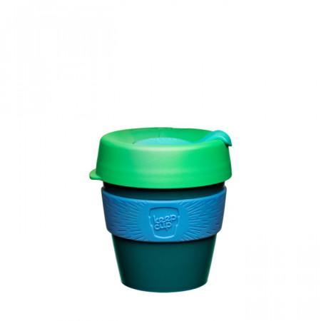 KeepCup Original - cana reutilizabila din polipropilena cu banda din silicon si capac din polipropilena