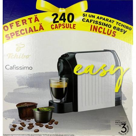 PRIMUL ESPRESSOR!! - 240 de Capsule cu Cafea Tchibo Cafissimo + Espressor Tchibo Cafissimo easy, Negru