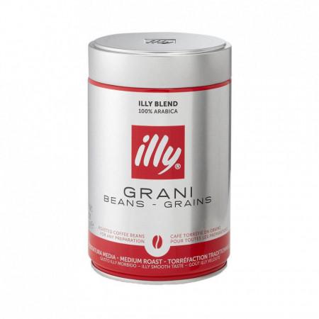 Cafea Boabe Illy Classico, 250 grame, espressor, filtru, ibric