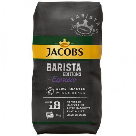 Cafea boabe Jacobs Barista Espresso, 1 kg