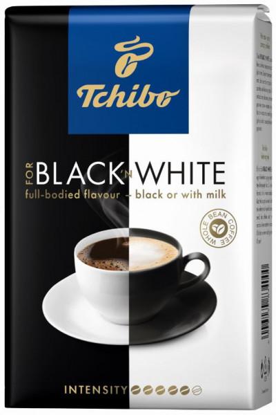 Cafea Boabe Tchibo Black'n White, pachet 500g