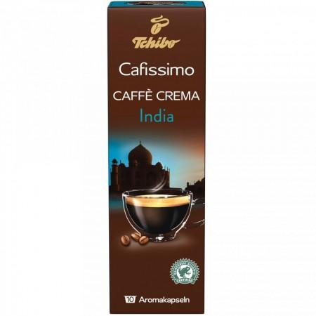 Capsule cafea Tchibo Cafissimo Caffe Crema India Sirisha, 10 capsule, 80 g