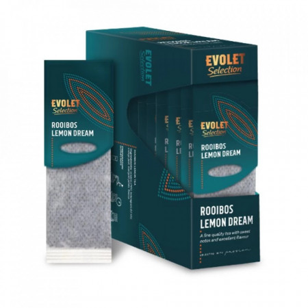 CEAI EVOLET Selection Grand Pack ROOIBOS LEMON DREAM, 20 plicuri, Plic T-Bag, Greutate Plic 4g