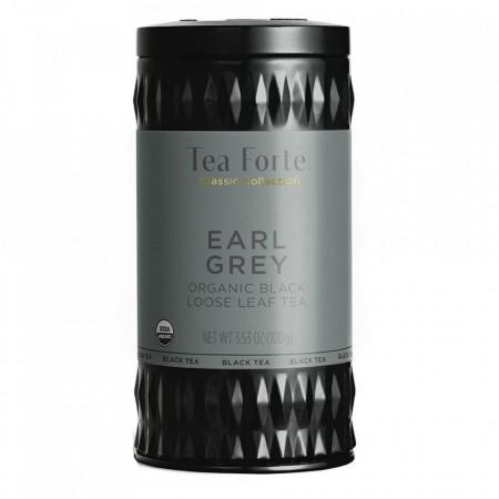 Earl Grey - Ceai negru organic Assam cu bergamota, portocala si petale de albastrele