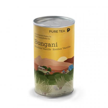 Pure Tea Bio Loose Bongani Rooibosh Vanilla - ceai rosu imbogatit cu vanilie de burbon, in cutie, 3 gr/plic, 15 plicuri in cutie