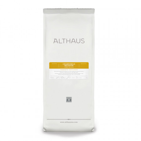 Althaus Loose Tea Chamomille Meadow: musetel, ceai vrac, punga 75gr