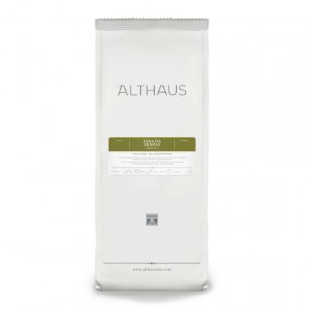 Althaus Loose Tea Sencha Senpai:ceai verde Japonia, ceai vrac, punga 250g